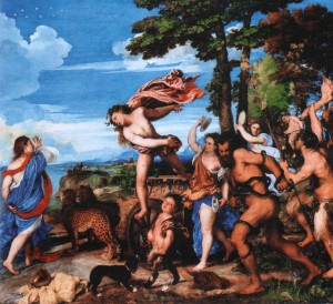Картина Тициана «Вакх и Ариадна»