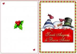 Три весёлых снеговичка
