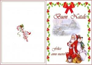 Санта Клаус и снеговик