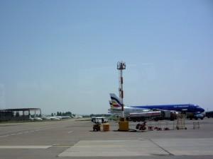 в аэропорту Кишинева