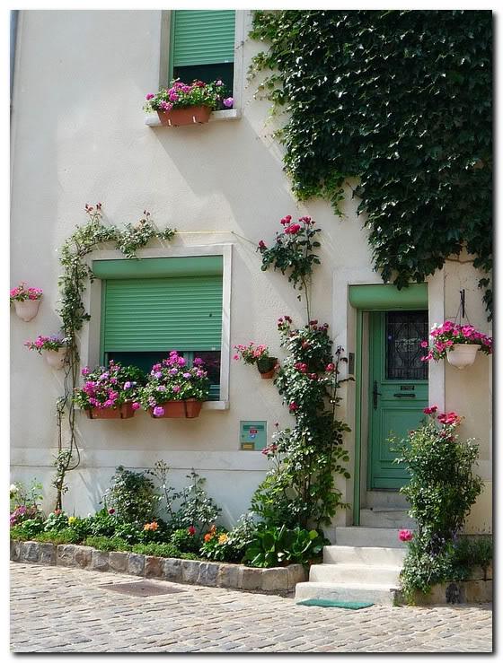 В пригороде Парижа