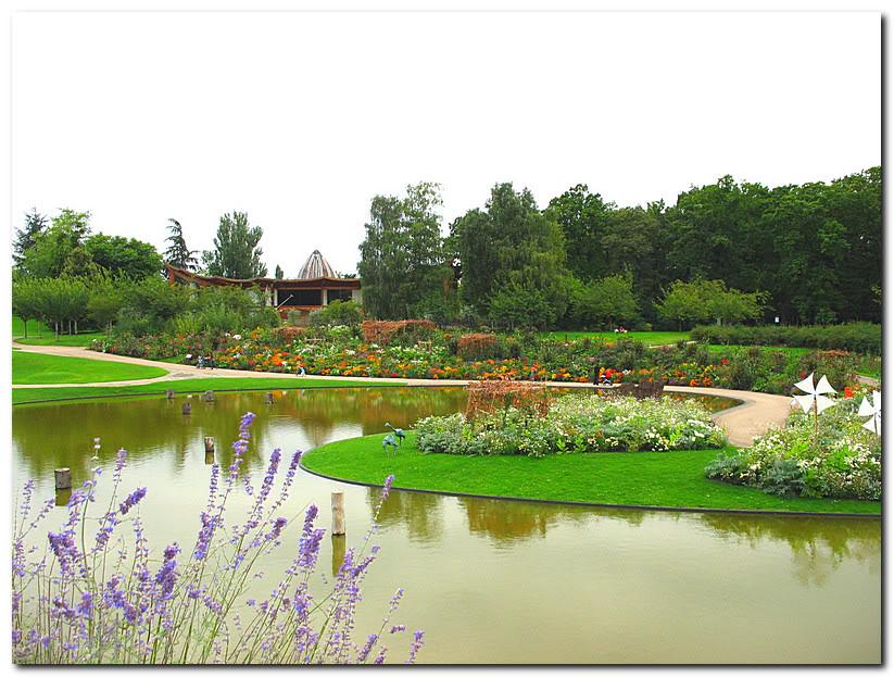 Парк цветов в Париже