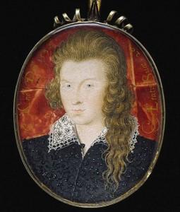Генри Ризли, 3-й граф Саутгемптон в 21 год. Покровитель Шекспира и один из возможных адресатов сонетов