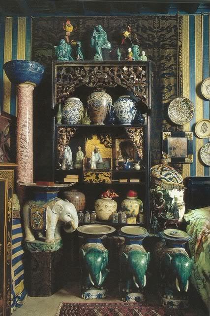 Комната Леды в доме Габриеле Д'Аннунцио