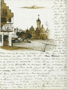 """Иллюстрация из книги """"Рассказы и рисунки путешествий"""""""
