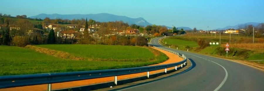 Дорога в Италии