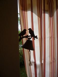 Колокольчик с птичками