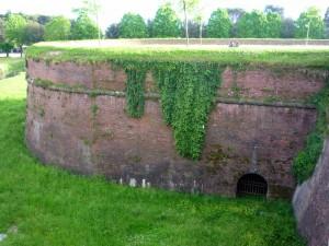 часть городской стены