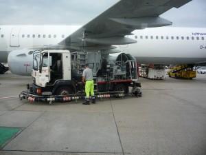 техобслуживание самолета