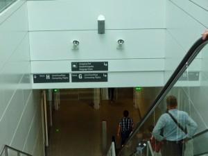эскалатор в аэропорту