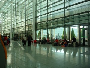 один из залов международного аэропорта Мюнхена
