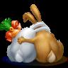 Два влюбленных кролика