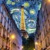 Коллаж-ночной Париж