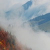 Холмы покрытые туманом