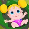Маленькая девочка в капусте