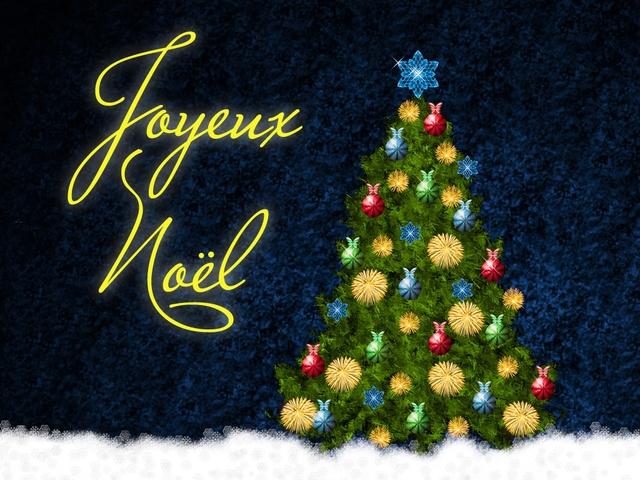 Новогодние поздравления на французском