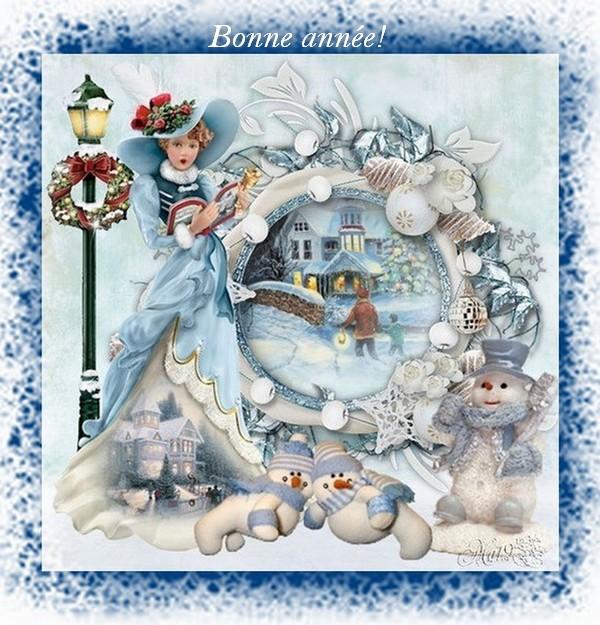Открытки к рождеству на французском