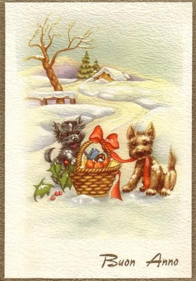 Пожеланием, рождество по-итальянски открытки