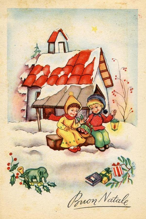 Поздравить по итальянски с рождеством