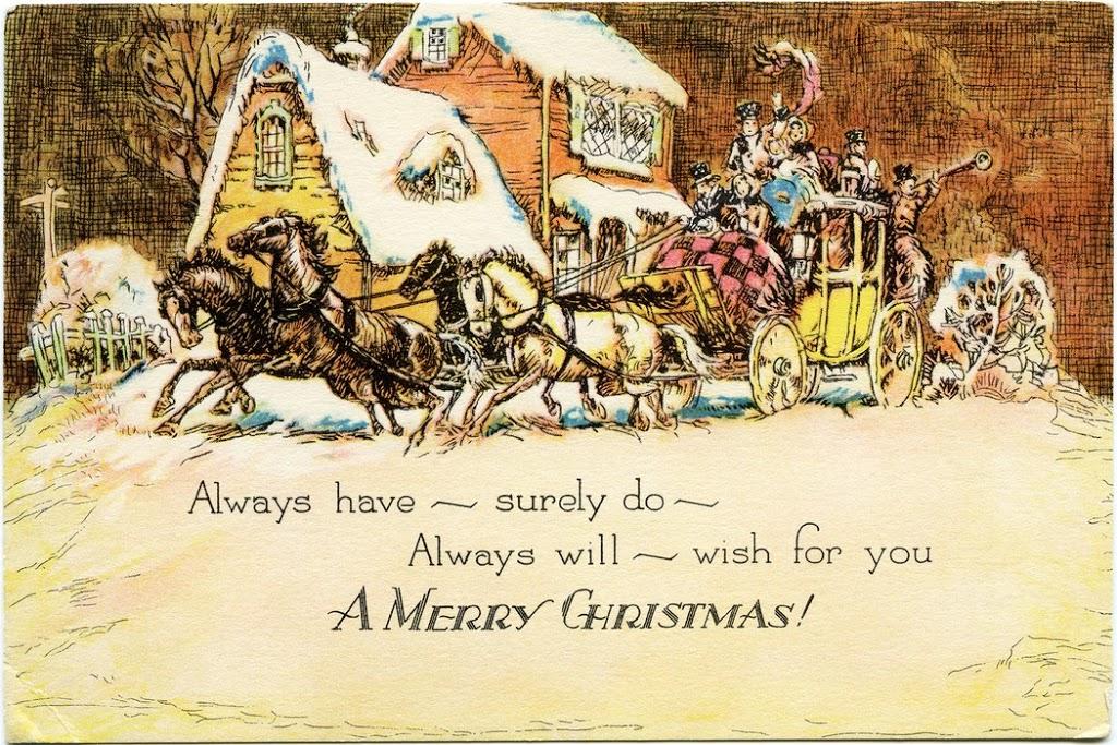 Рождественские открытки картинки на английском