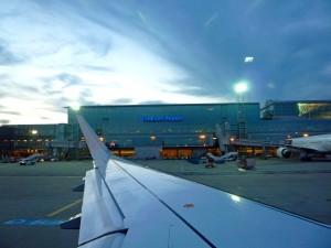 здание аэропорта Франкфурта