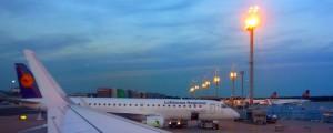 Самолет авиакомпании Lufthanza